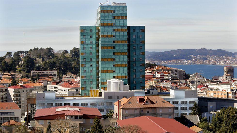 Hospital General Cíes de Vigo. EFE.