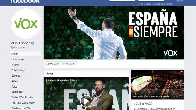 La JEC obliga a Vox y Más País retirar sus anuncios electorales en Facebook