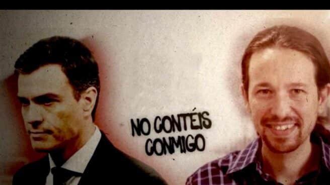 Campaña de Facebook contra el PSOE y Podemos