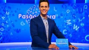 El presentador de Pasapalabra, Christian Gálvez. EFE.