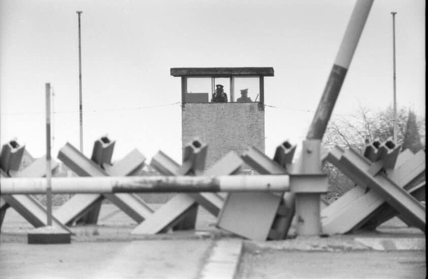 Muro de Berlín-espías