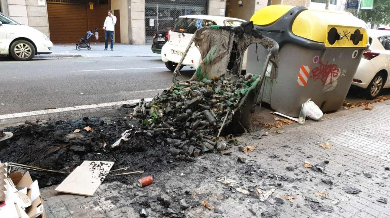 Los altercados en Cataluña en datos: heridos, detenidos y coste económico
