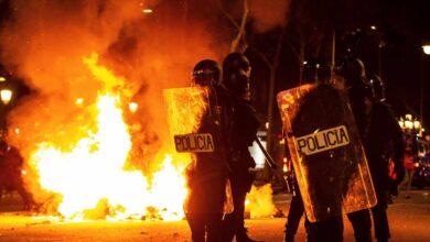 Los CDR incendian el centro de Barcelona en una nueva jornada de violencia