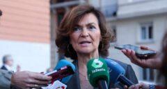 """Carmen Calvo: """"Somos el segundo país del mundo con más desaparecidos. Insoportable"""""""