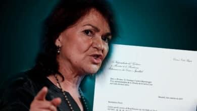 Carta de Calvo al prior: le da 5 días para decir si deniega la autorización