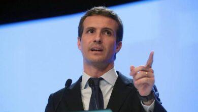 Casado urge a Sánchez a aplicar la Ley de Seguridad Nacional en Cataluña