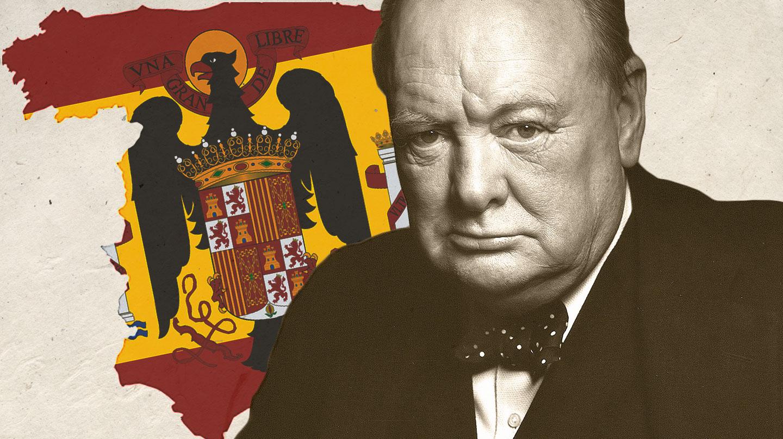 Winston Churchill tuvo una relación de amor y odio con España.