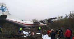 Al menos cinco muertos en Ucrania tras el aterrizaje forzoso de un avión procedente de España