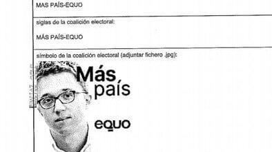 Las papeletas de Más País no llevarán la cara de Errejón en Barcelona y Baleares