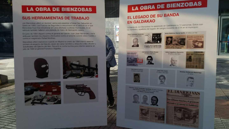 """El PP muestra """"la obra de Bienzobas"""" ante la """"aberrante"""" exposición del preso de ETA"""