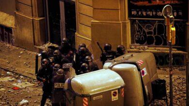 18-O, el día que llovieron piedras sobre Barcelona