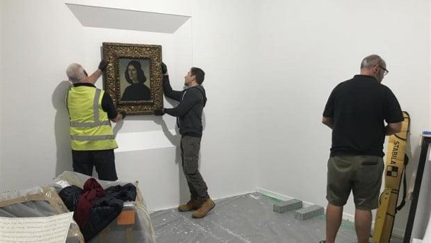 El 'Botticelli' protegido llega a España antes de que expire el plazo de Cultura