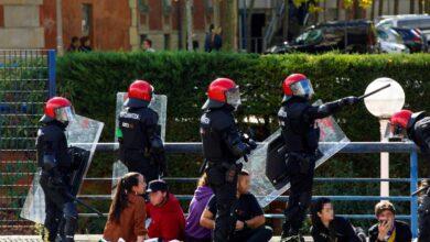 """19 detenidos en una marcha de Ernai de apoyo al 'procés': """"¡'Zipayo', escucha, pim, pam, pum!"""""""