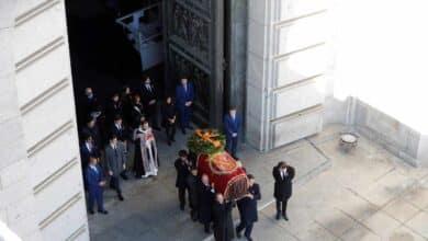 Los restos de Franco ya están en el cementerio de Mingorrubio