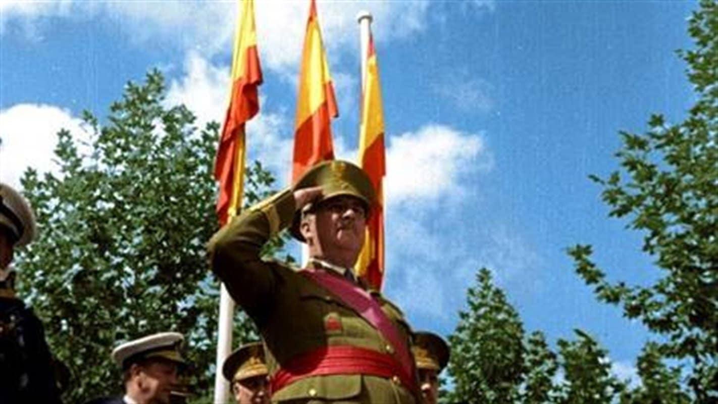 Imagen de Franco a color