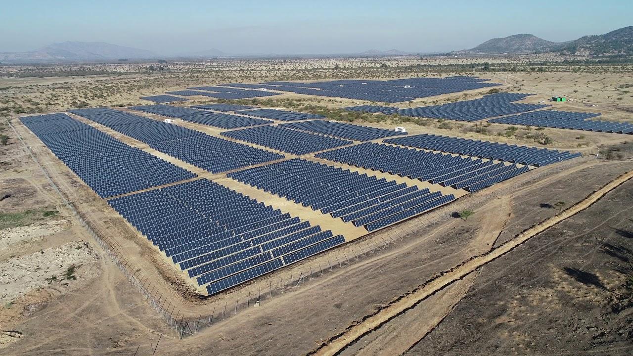 Una planta fotovoltaica de la compañía Grenergy.