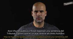 """Guardiola da la cara como 'portavoz oficial' de los radicales: """"Es un ataque directo a los derechos humanos"""""""