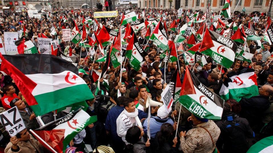 Manifestación saharaui en Madrid