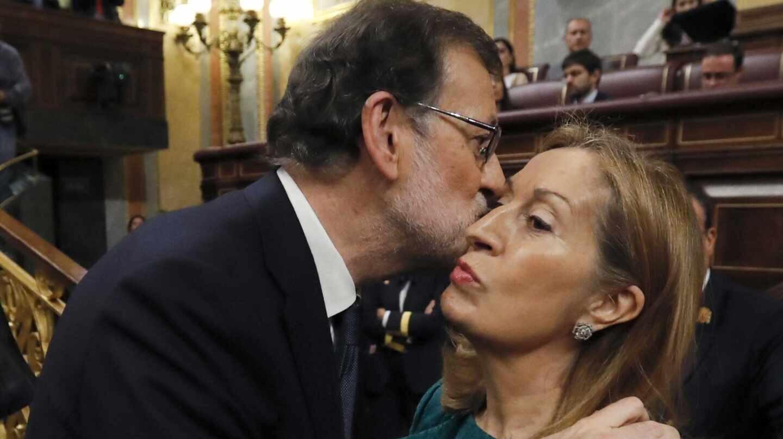 Mariano Rajoy y ana Pastor en un imagen de archivo