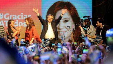 El peronismo gana en primera vuelta las elecciones presidenciales en Argentina