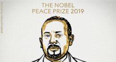 El primer ministro de Etiopía, Abiy Ahmed Ali, premio Nobel de la Paz
