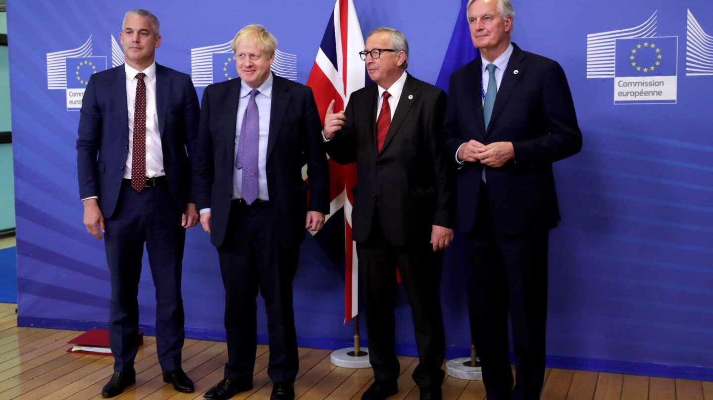 Los protagonistas del acuerdo del Brexit