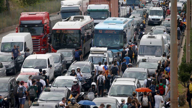 Resultado de imagen para Bloqueo transportista amenaza autopistas