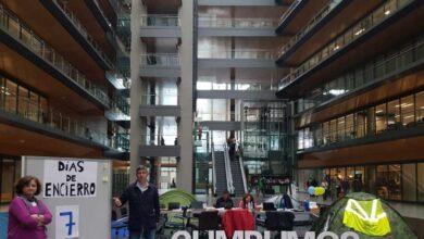Los sindicatos de Endesa extienden por toda España los encierros en sedes de la eléctrica