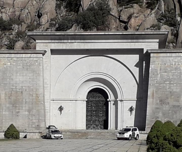 La Guardia Civil, en el Valle de los Caídos