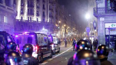Los CDR devuelven los disturbios y las barricadas al centro de Barcelona