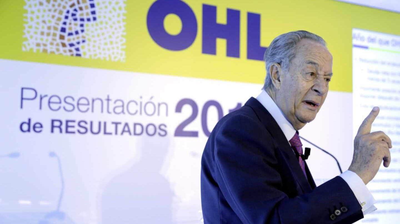 La CNMV suspende la cotización de OHL entre rumores de venta de los Villar Mir.