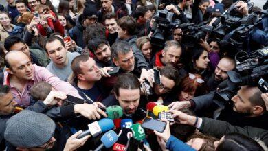 """Iglesias recupera la """"plurinacionalidad"""" para atraer al independentismo al acuerdo"""