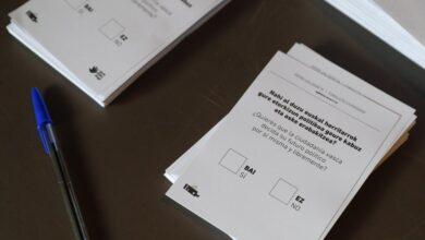 El independentismo se moviliza para impulsar leyes de referéndum en Euskadi y Navarra