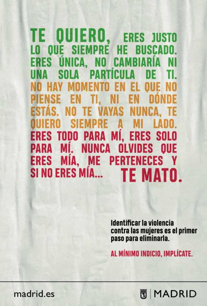 Campaña frente a la violencia contra las mujeres