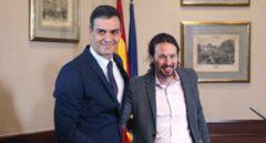 Sánchez utiliza la coartada de Vox para justificar su pacto con Iglesias