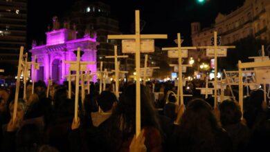 Manifestaciones en toda España claman contra la violencia de género