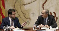 """JxCat y ERC definen el Govern """"post-Torra"""" entre muestras de desconfianza"""