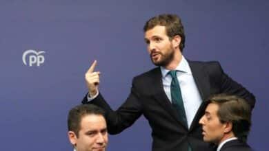 """Casado anuncia que el PP """"no va a ser partícipe"""" de la investidura de Sánchez"""