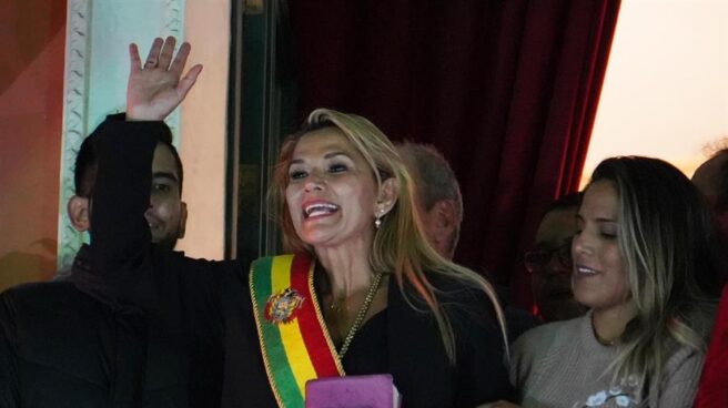 Nueva presidenta de Bolivia