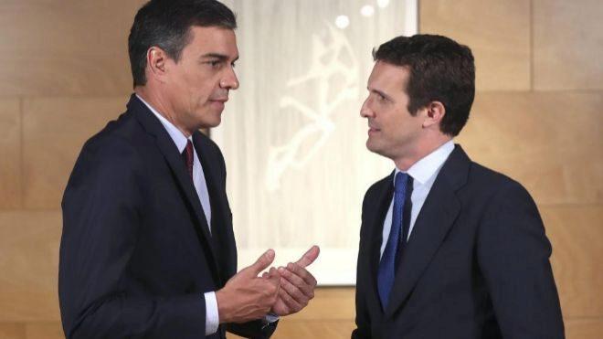 """Casado deja en suspenso su cita del próximo jueves con Sánchez: """"Así, no"""""""