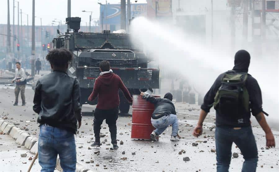 Colombia-Bogotá-disturbios