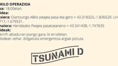 Tsunami Democràtic convoca la 'operación caracol' en Euskadi para bloquear la frontera en Irún