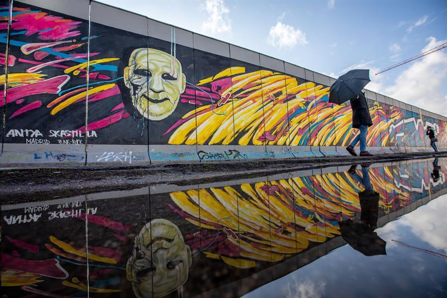 Muro de Berlín en el 30 aniversario del derribo