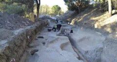 Hallan restos de un posible campamento militar romano en el campus de Somosaguas