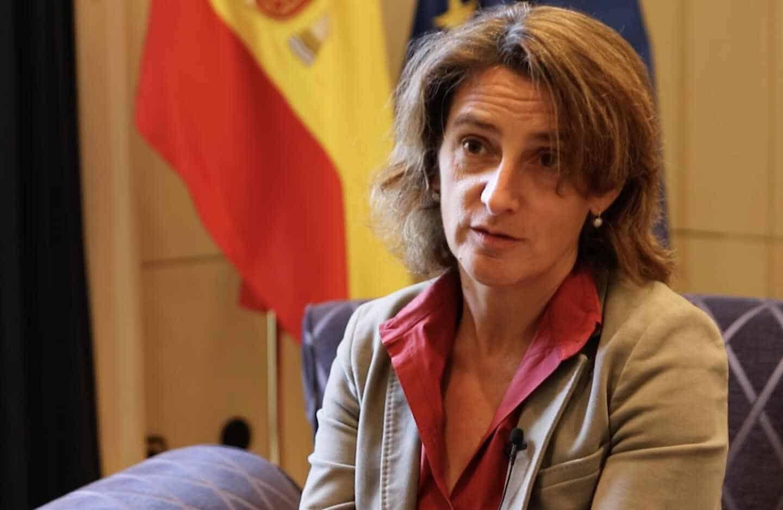 """Teresa Ribera: """"Es tiempo de activismo para luchar contra el cambio climático"""""""
