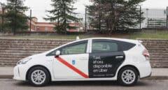 Uber incluye taxis de Madrid en su app y les cobrará la mitad de comisión que a las VTC