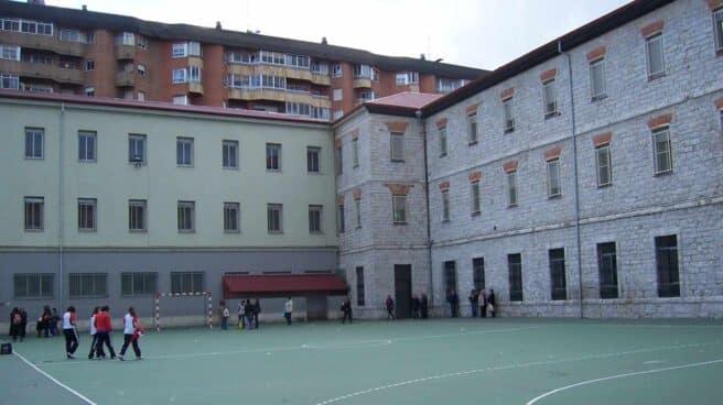 Colegio San José en Valladolid.