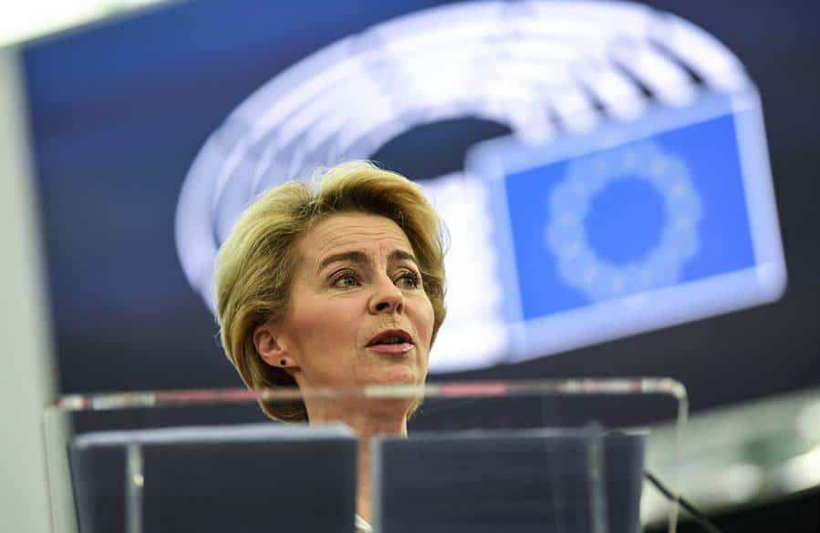 Presidenta Comisión Europea