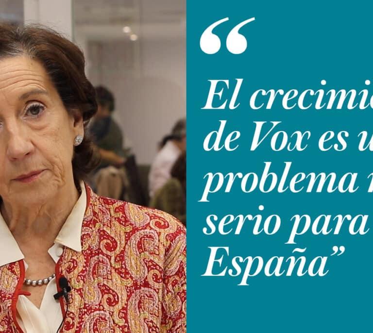 """""""Vox tiene planteamientos que son un auténtico torpedo contra la Constitución"""""""