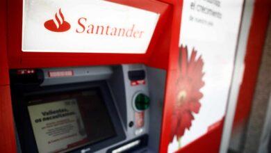 Santander y los sindicatos se acercan al acuerdo y el ERE afectará a 3.600 empleados